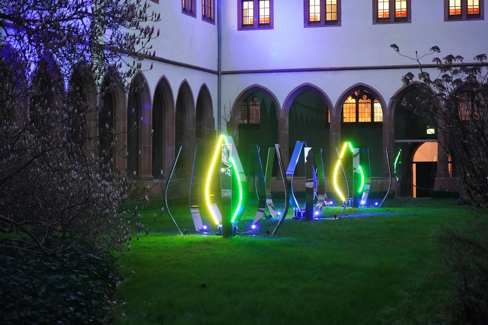 Malte Kebbel - Light Anemones - Karmeliterkloster 8